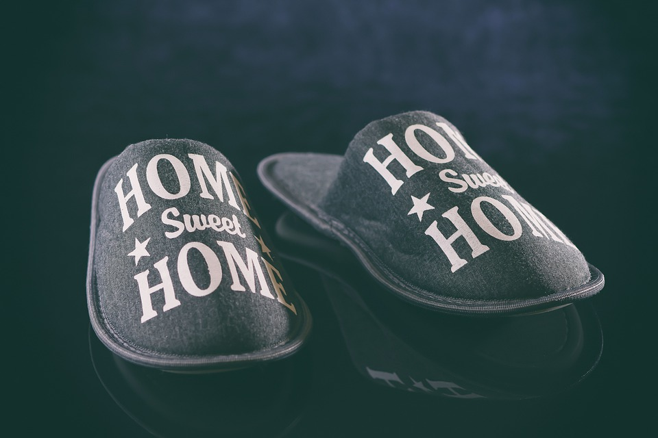Slippers, Home Sweet Home, Slipper, Shoes, Funny