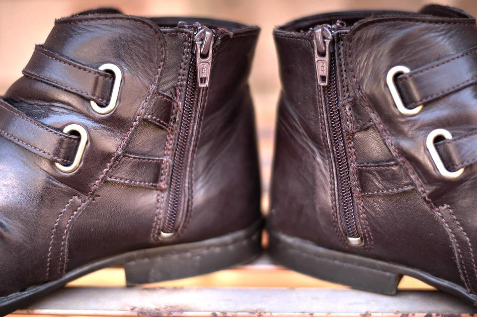 Leather Boots, Shoes, Footwear, Outdoor