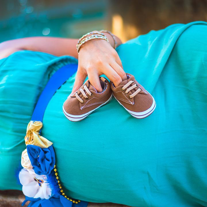 Women, Clothing, Pregnancy, Shoes, Sweet Waiting