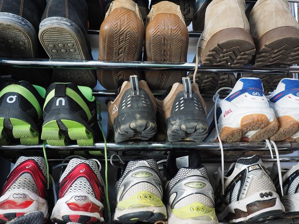 Shoes, Shoe Shelf, Running Shoes