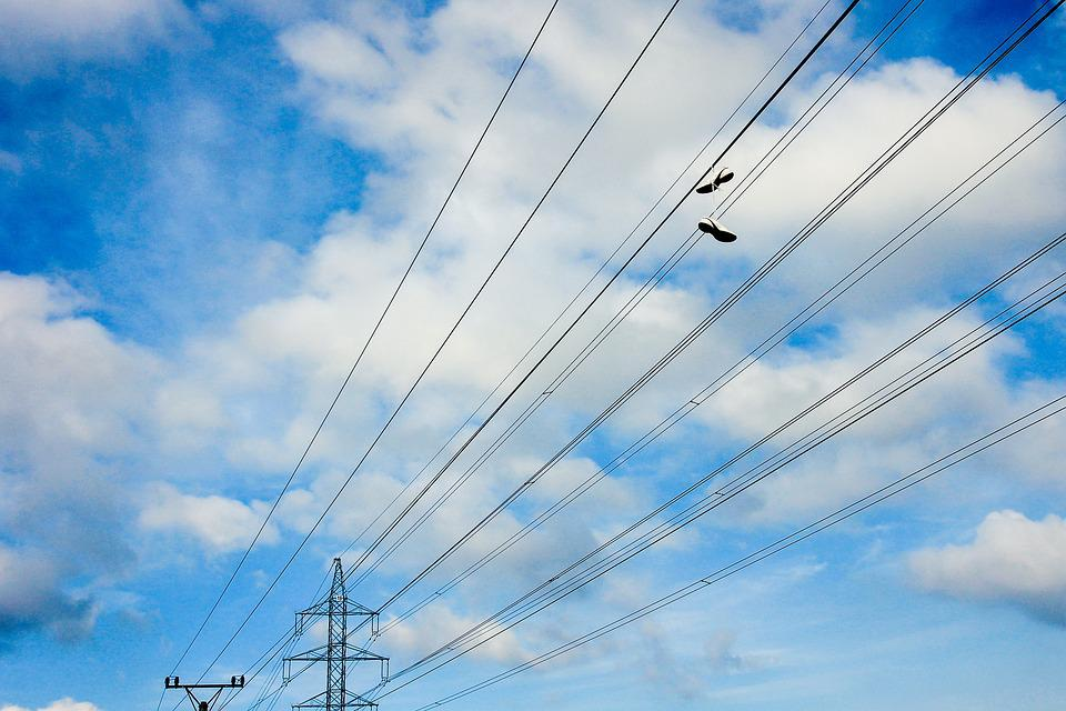 The Sky, Clouds, Shoes, The Wires, Telegraph-pole