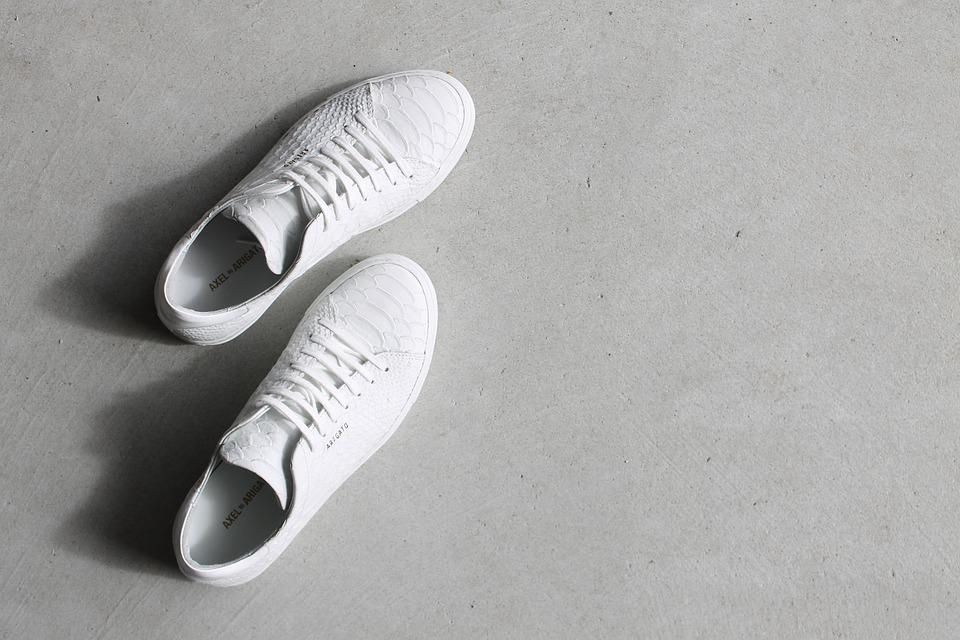 Shoes, White, Footwear