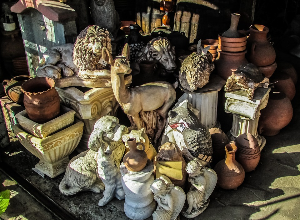 Cyprus, Mosfiloti, Shop, Decorative, Objects