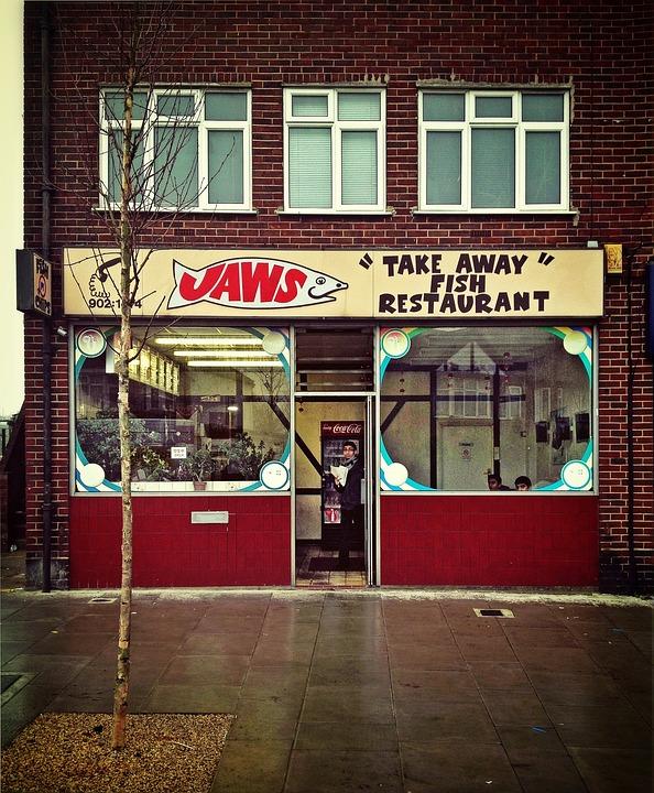 Fish Shop, Food, Fish, Shop, Business, Sign, Fast-food