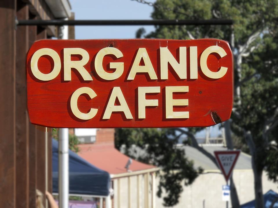 Organic, Cafe, Restaurant, Healthy, Shop, Coffee Shop