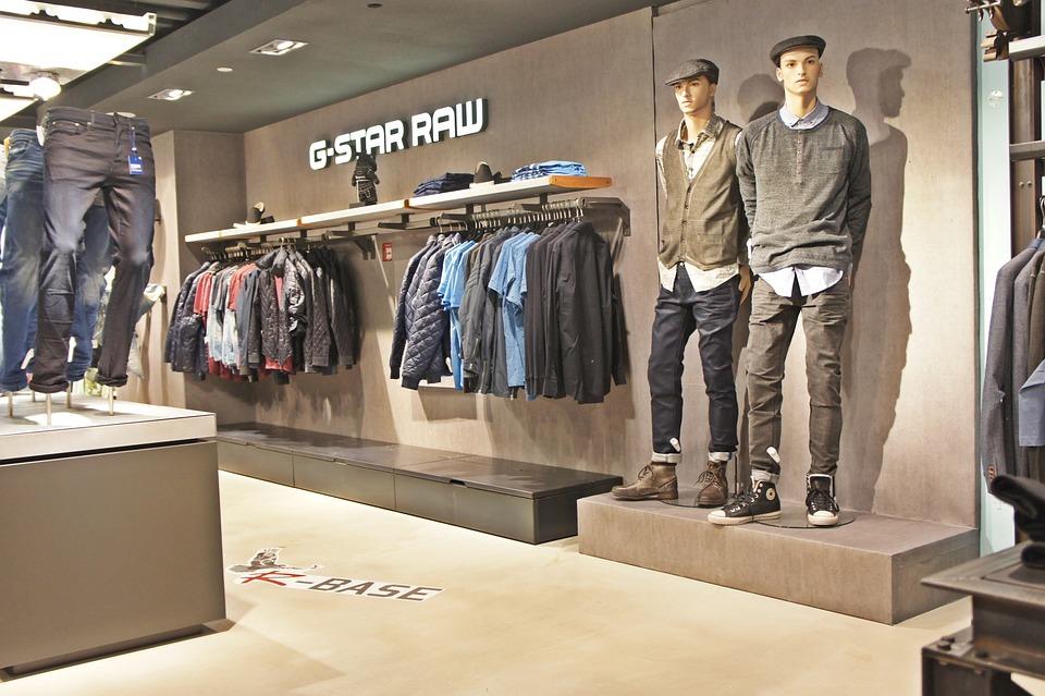 Clothing, Shop, Jeans, Pants, Fashion, Mannequin