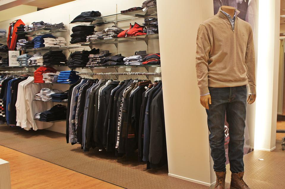 Clothing, Shop, Jeans, Pants, Fashion, Mannequin