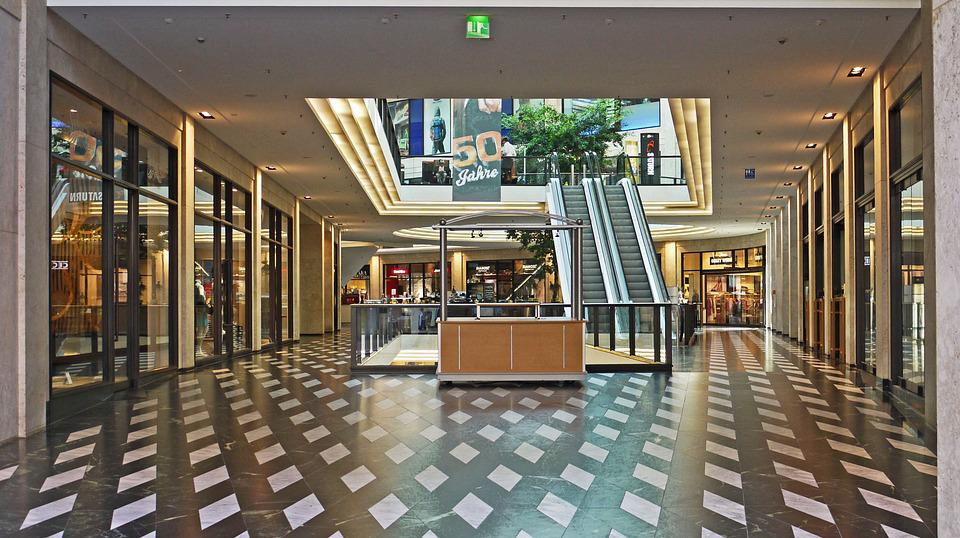 Mall, Shopping Arcade, Retail, Window, Exquisite