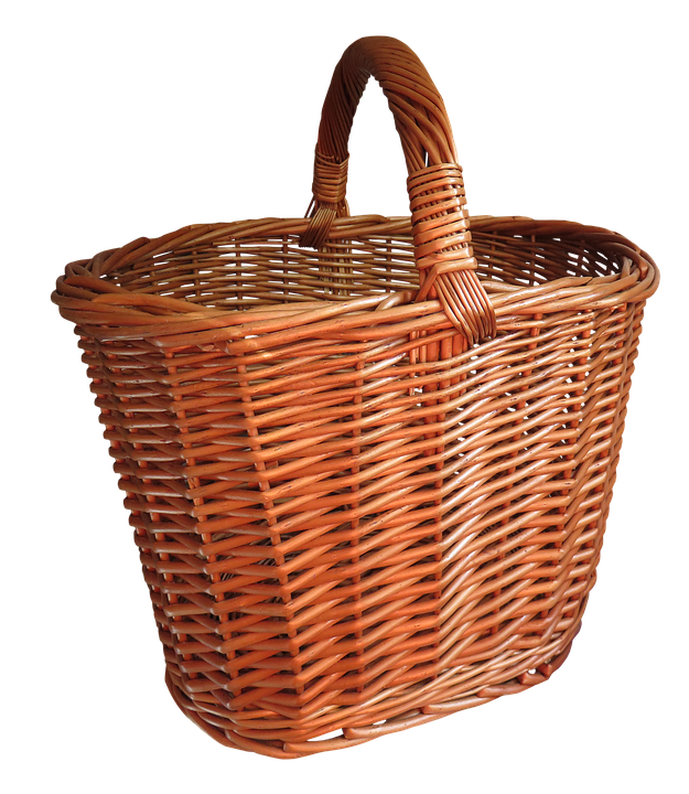 Basket, Shopping Basket, Png, Isolated, Shopping, Weave