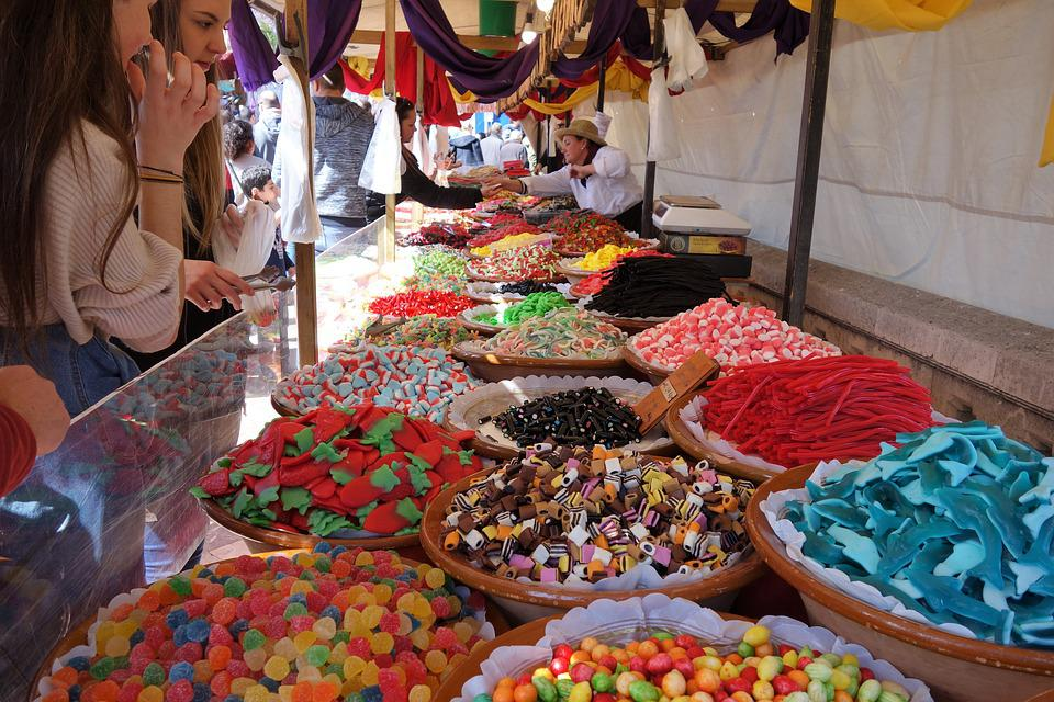 Sell, Retail, Market, Shopping, Candy, Sweets, Mallorca