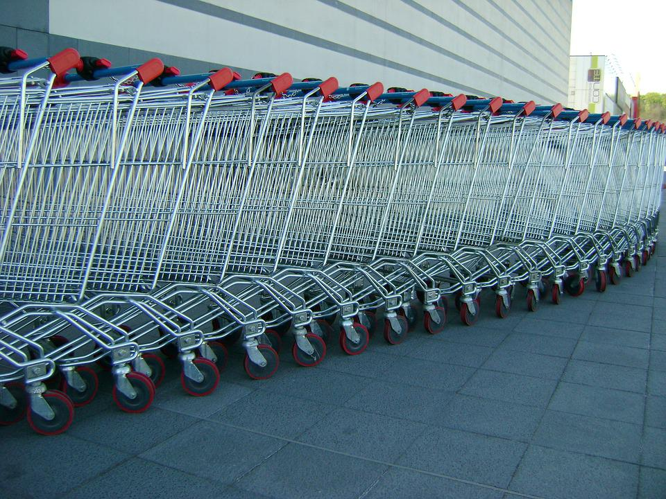 Carts, Expense, Shopping Cart, Supermarket, Purchase