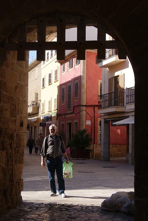 Man, Mallorca, Human, Tourist, Shopping, Old Town, Goal