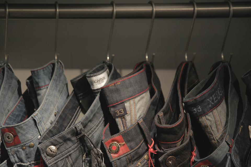 Jeans, Shopping, Cloth, Texture, Fashion