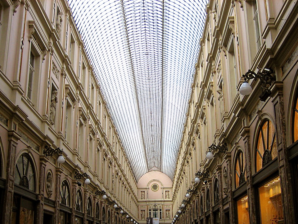 Brussels, Architecture, Shopping Mall