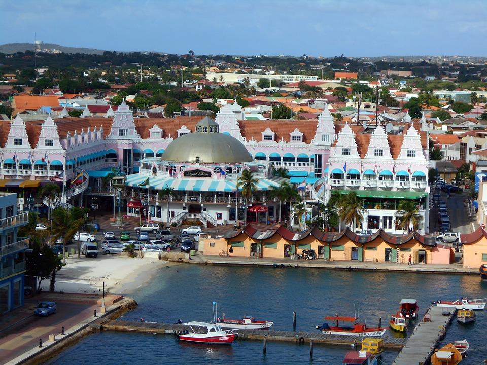 Aruba, Caribbean, Shopping, Port, Vacation