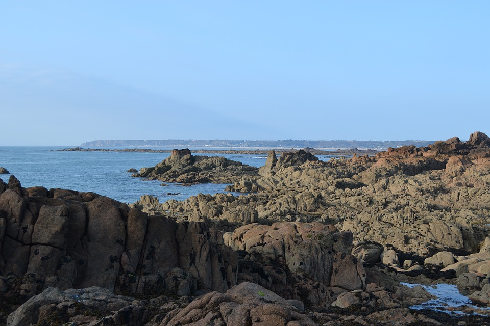 Jersey, Shore, Coast, Seaside, Sea, Beach