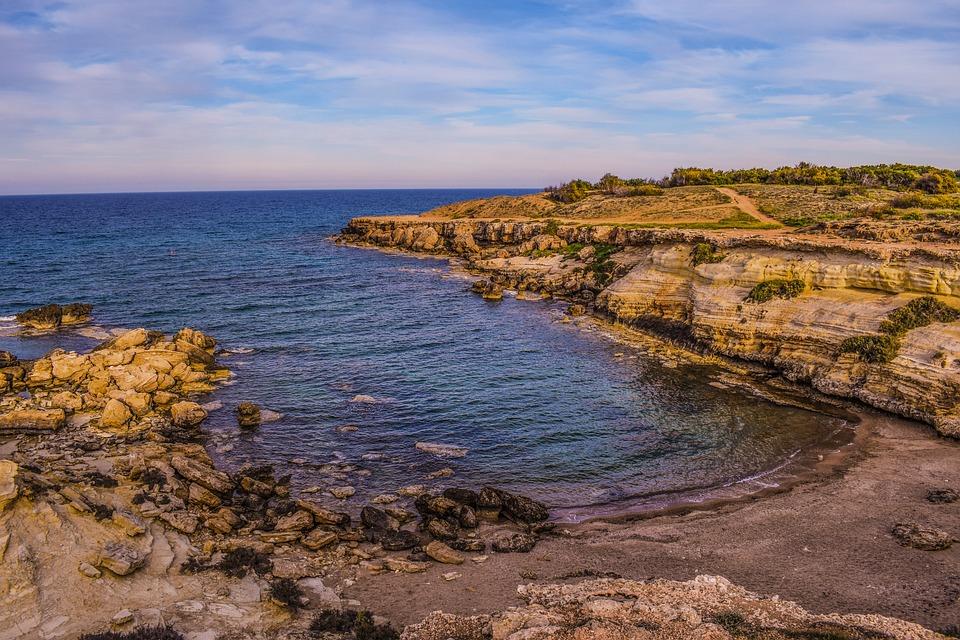 Beach, Bay, Cove, Cliff, Erosion, Rocks, Shore, Scenery