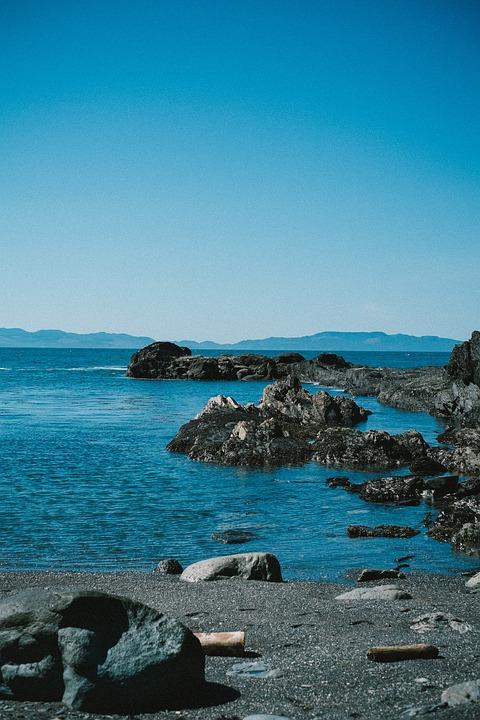 Rocks, Beach, Rocky, Shore, Sea, Ocean, Coast, Summer