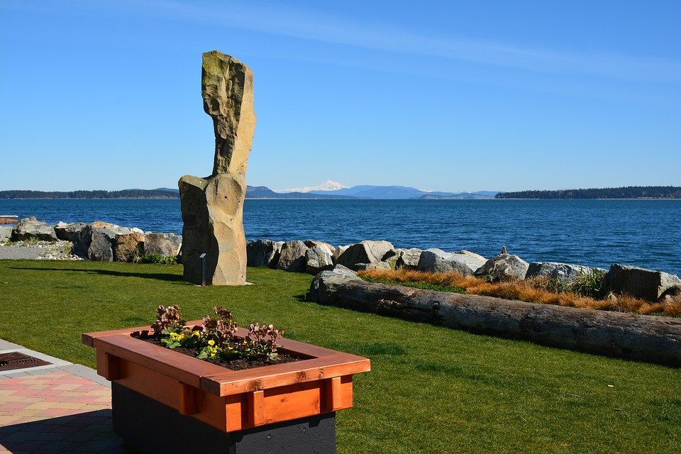 Ocean, Monolith, Shore, Sea, Scenic, Rock