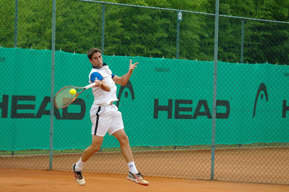 Tennis Shot, Hitting Tennis, Ball, Tennis, Shot, Racket