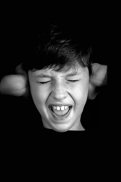 Teen, Anger, Scream, Shouts, Malice, Disgruntled, Fear