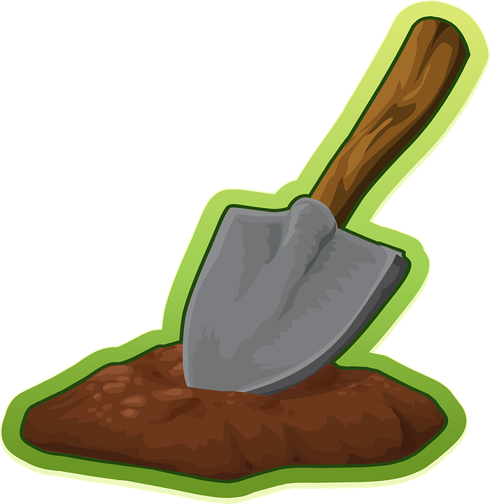 Shovel, Trowel, Digging, Equipment, Tool, Garden, Iron