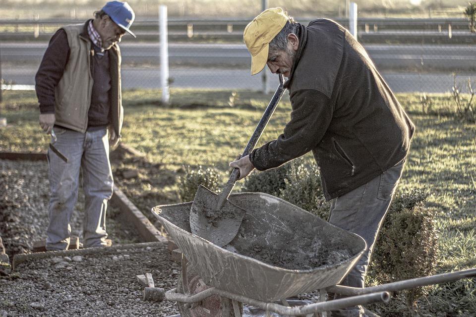 Work, People, Effort, Man, Company, Worker, Shovel