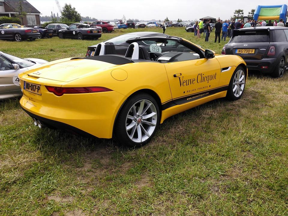 Yellow Car, Show, Cars