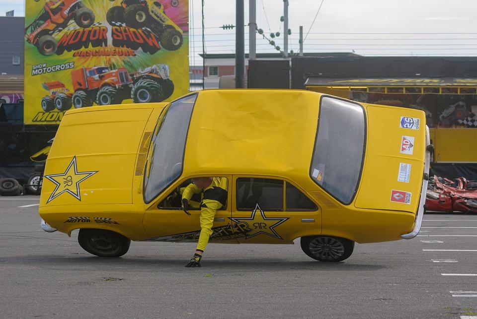 Free photo Show Cascade Stuntman Vehicle Automobile Transport - Max ...