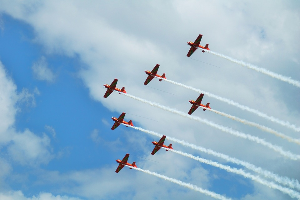 Plane, Aircraft, Flight, Fly, Red Baron, Show