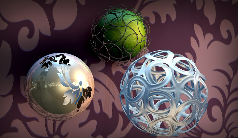 Balls, Animation, Material Test, Show Me, Application