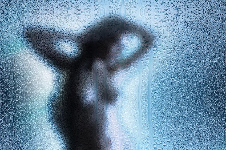 Voyeur, Voyeurism, Woman, Tensioner, Shower