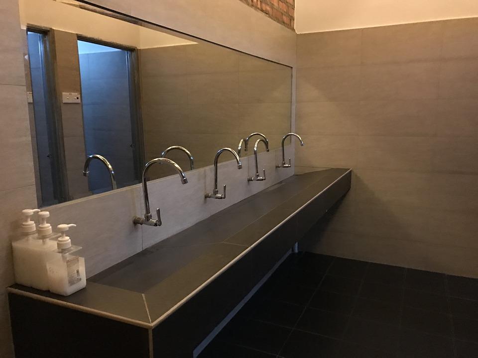 Sink, Toilet, Apartment, Bathroom, Design, Shower
