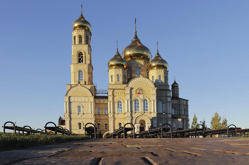 Temple, Cathedral, Orthodox, Culture, Showplace