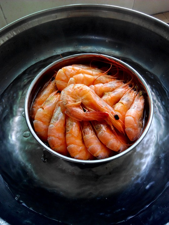 Shrimp, Food, Cooking, Seafood