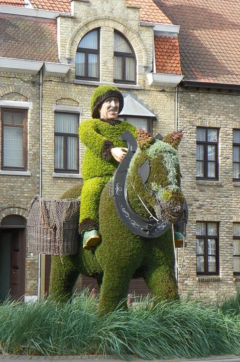 Horse, Fisherman, Fishermen, Shrimp Fishermen, Belgium