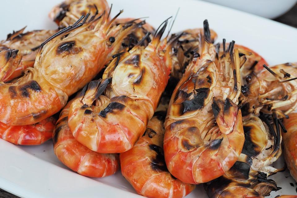 Shrimp, Grilled Shrimp, Food, Foodstuff, Picnic