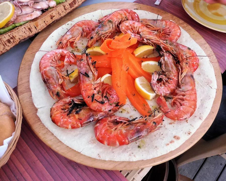 Shrimp, Crustaceans, Sea Animals, Mediterranean Crab