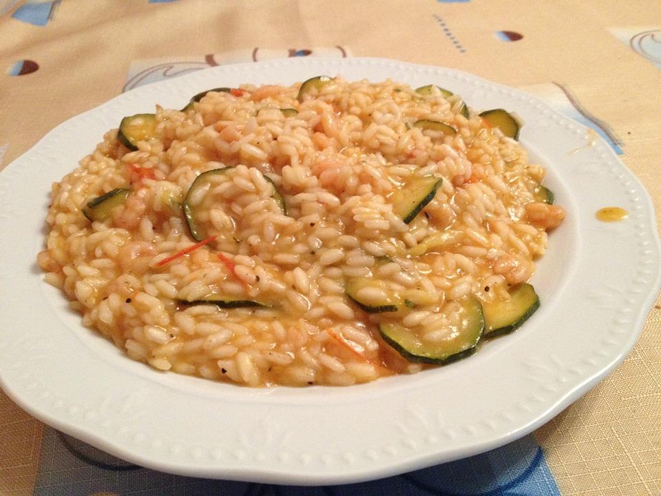 Rice, Pumpkin, Shrimp