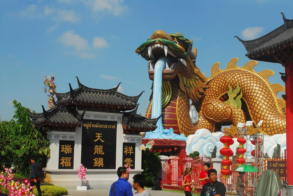 Shrine, Thailand, Chinese Arts, Culture, Chinese