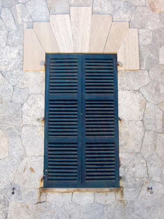 Shutter, Window, Wooden Shutters, Old, Facade, Closed