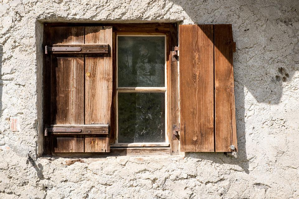 Window, Old, Old Window, Shutters, Wood, Wooden Windows