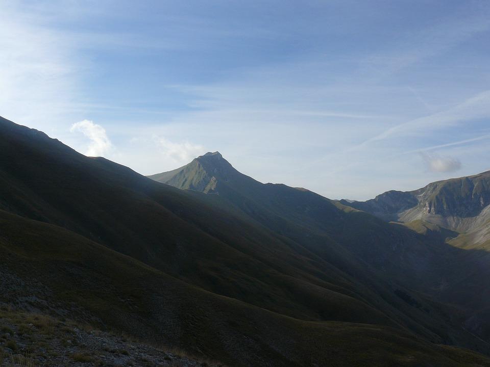 Mountain, Sibillini, Upstream
