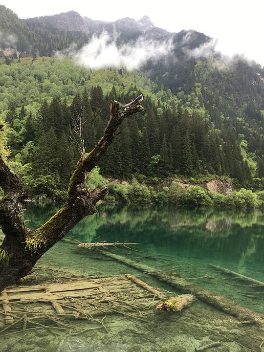 Jiuzhaigou, Sichuan, The Scenery