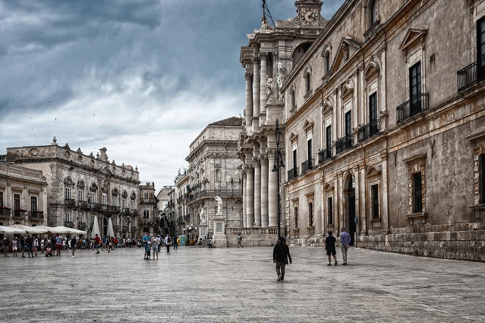 Sicily, Siracusa, Architecture, Syracuse, Church