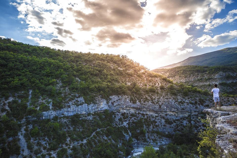 Gorges Du Verdon, Travel, Adventure, Escape, Blue, Side