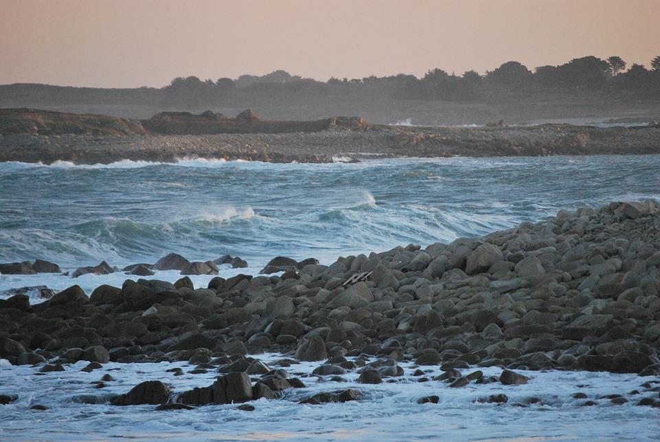Sea, Ocean, Side, Beach, Wave