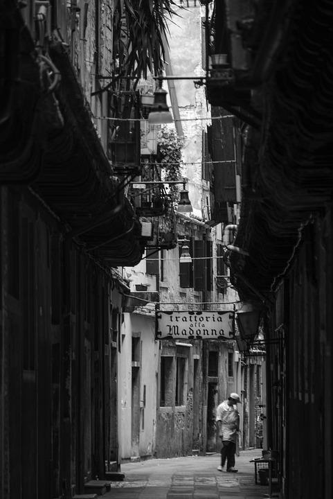 Venice, Venedig, Black And White, Siebeck, Com, Italy