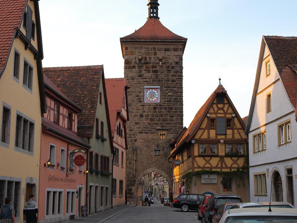 Rothenburg Of The Deaf, Sieber Storm, Old Town