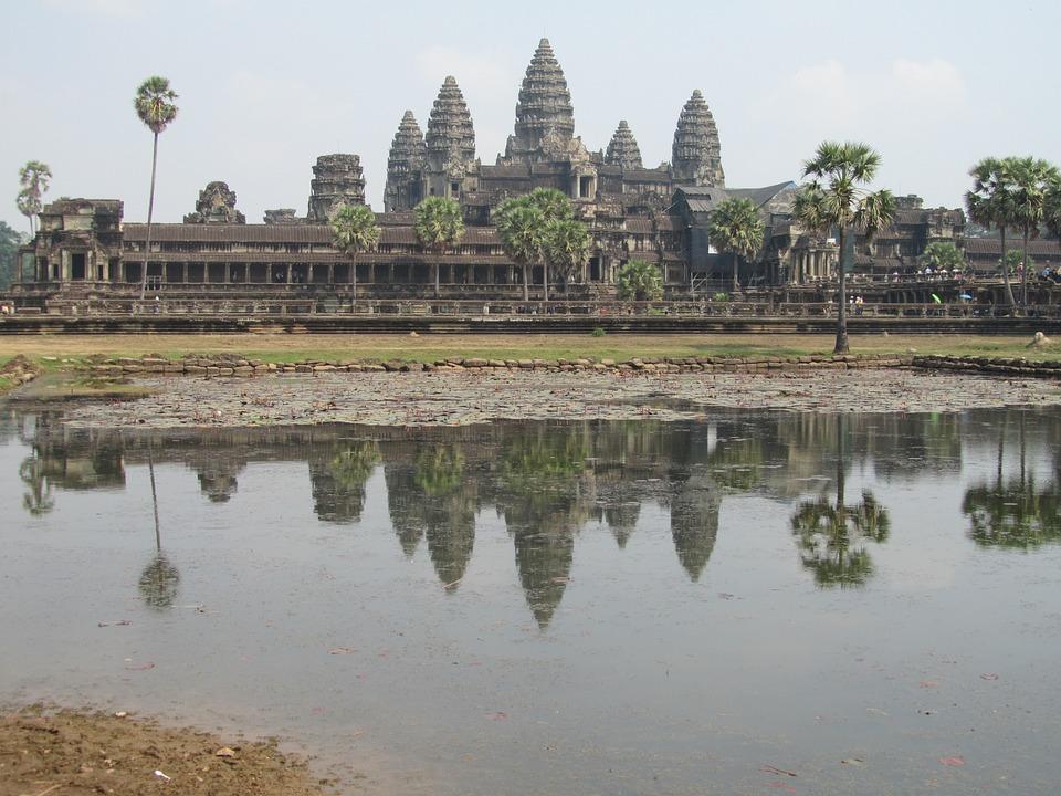 Cambodia, Siem Reap, Angkor Wat, Temple, Landmark